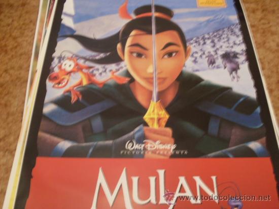 MULAN DISNEY GRAN FORMATO (Cine - Posters y Carteles - Infantil)
