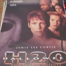 Cine: HALLOWEEN H20 (JAMIE LEE CURTIS) GRAN FORMATO. Lote 27624187