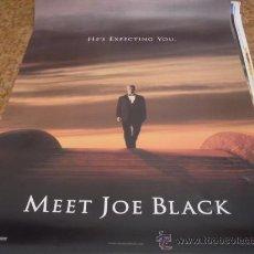 Cine: CONOCES A JOE BLACK? - BRAD PITT, ANTHONY HOPKINS, CLAIRE FORLANI - IMPORTACION GRAN FORMATO. Lote 25043346
