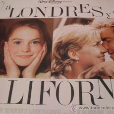 Cine: TU A LONDRES Y YO A CALIFORNIA DISNEY GRAN FORMATO. Lote 23455210