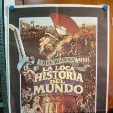 Cine: LA LOCA HISTORIA DEL MUNDO, MEL BROOKS, AÑO 1981. Lote 20110558