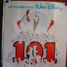 Cine: 101 DALMATAS - WALT DISNEY. Lote 20122885