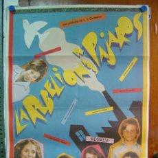 Cine: LA REBELION DE LOS PAJAROS, JORGE SANZ, ASSUMPTA SERNA, REGALIZ, ENRIQUE CASTRO QUINI - AÑO 1982. Lote 22658390