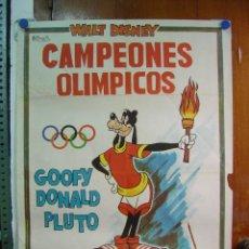 Cine: CAMPEONES OLIMPICOS - WALT DISNEY - AÑO 1972. Lote 20125593