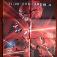 Cine: STAR TREK, INSURRECCION CARTEL EN PAPEL . Lote 20137505