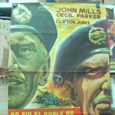 Cine: YO FUI EL DOBLE DE MONTGOMERY - JOHN MILLS, CECIL PARKER , LITOGRAFIA, ILUSTRADOR: -- AÑO 1958. Lote 26811016