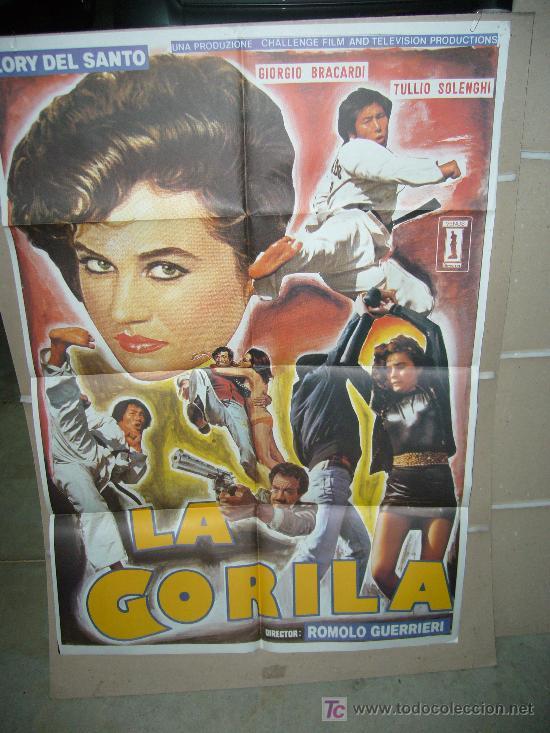LA GORILA LORY DEL SANTO KUNG FU POSTER ORIGINAL 70X100 Q (Cine - Posters y Carteles - Acción)