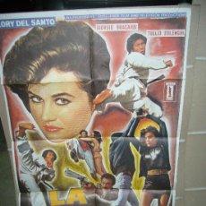 Cine: LA GORILA LORY DEL SANTO KUNG FU POSTER ORIGINAL 70X100. Lote 26637234