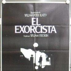Cine: MT28 EL EXORCISTA LINDA BLAIR WILLIAM FRIEDKIN POSTER ORIGINAL 70X100 ESTRENO. Lote 20453074
