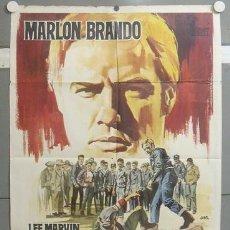 Cine: TQ84D SALVAJE MARLON BRANDO JANO POSTER ORIGINAL 70X100 ESTRENO. Lote 20470716