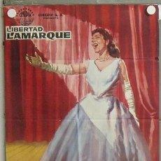 Cine: MV34 BAMBALINAS LIBERTAD LAMARQUE POSTER ORIGINAL 70X100 ESTRENO. Lote 20552497