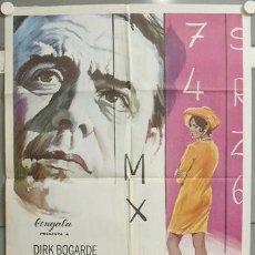 Cinema: MW55 SEBASTIAN DIRK BOGARDE SUSANNAH YORK MCP POSTER ORIGINAL 70X100 ESTRENO. Lote 20575271