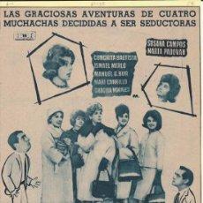 Cine: ESCUELA DE SEDUCTORAS. PUBLICIDAD ORIGINAL DE PRENSA - CINE ESPAÑOL. Lote 20600532