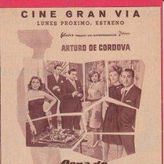 Cine: CENA DE MATRIMONIOS. PUBLICIDAD ORIGINAL DE PRENSA - CINE ESPAÑOL. Lote 20700205
