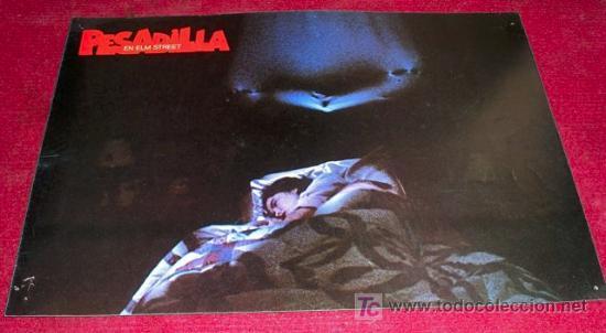 PESADILLA EN ELM STREET- AFICHE ORIGINAL CINE (Cine - Posters y Carteles - Terror)
