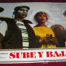 Cine: SUBE Y BAJA - CANTINFLAS - AFICHE ORIGINAL CINE. Lote 27108436