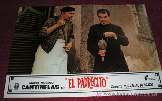 EL PADRECITO - CANTINFLAS - AFICHE ORIGINAL CINE (Cine - Posters y Carteles - Comedia