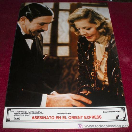 ASESINATO EN EL ORIENT EXPRESS - AFICHE ORIGINAL CINE (Cine - Posters y Carteles - Suspense)