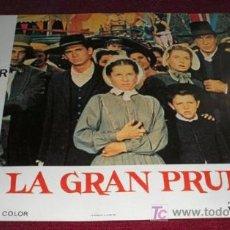 Cine: LA GRAN PRUEBA - GARY COOPER - AFICHE ORIGINAL CINE. Lote 27159302