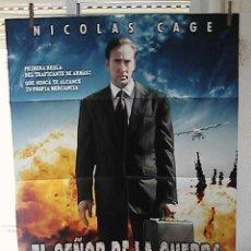 Cine: EL SEÑOR DE LA GUERRA,NICOLAS CAGE CARTEL DE CINE ORIGINAL 70X100 APROX (3). Lote 24349742