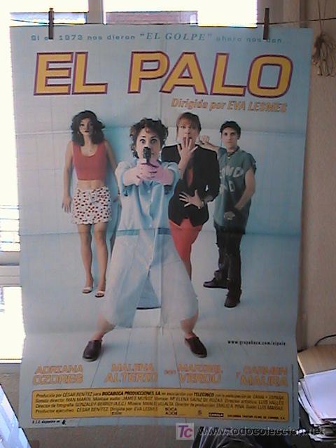 EL PALO,CARMEN MAURA, MARIBEL VERDU CARTEL DE CINE ORIGINAL 70X100 APROX (14) (Cine - Posters y Carteles - Clasico Español)