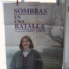 Cine: SOMBRAS EN UNA BATALLA,CARMEN MAURA CARTEL DE CINE ORIGINAL 70X100 APROX (19). Lote 21247884