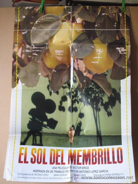 EL SOL DEL MEMBRILLO (Cine - Posters y Carteles - Clasico Español)