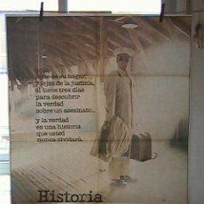 Cinéma: HISTORIA DE UN SOLDADO, CARTEL DE CINE ORIGINAL 70X100 APROX (35). Lote 21571222
