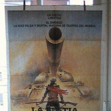 Cine: LA BESTIA DE LA GUERRA, CARTEL DE CINE ORIGINAL 70X100 APROX (37). Lote 25981766