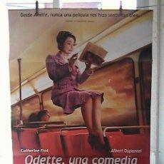 Cine: ODETTE, UNA COMEDIA SOBRE LA FELICIDAD, CARTEL DE CINE ORIGINAL 70X100 APROX (38). Lote 26529023