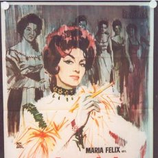 Cine: MY43 LA BANDIDA MARIA FELIX POSTER ORIGINAL 70X100 ESTRENO. Lote 21837801