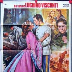 Cine: TI09D SENSO LUCHINO VISCONTI ALIDA VALLI FARLEY GRANGER POSTER ORIGINAL 70X100 . Lote 21831931