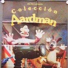 Cine: MY36 WALLACE Y GROMIT LOS PANTALONES EQUIVOCADOS AARDMAN ANIMACION POSTER ORIGINAL 70X100 ESTRENO. Lote 21837532