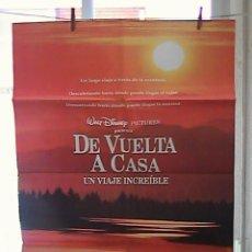 Cine: DE VUELTA A CASA,DISNEY CARTEL DE CINE ORIGINAL 70X100 APROX (43). Lote 21762128