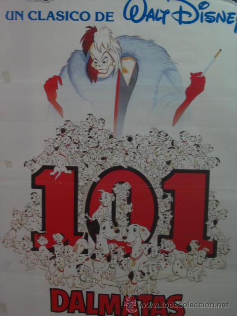 101 DALMATAS . WALT DISNEY. DIBUJOS . (Cine - Posters y Carteles - Infantil)