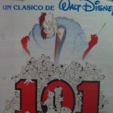 Cine: 101 DALMATAS . WALT DISNEY. DIBUJOS .. Lote 21833282