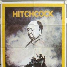 Cine: MY73 NAUFRAGOS ALFRED HITCHCOCK POSTER ORIGINAL 70X100. Lote 21848987