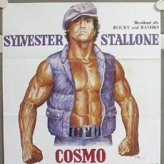 Cine: MY79 LA COCINA DEL INFIERNO SYLVESTER STALLONE POSTER ORIGINAL 60X84 ALEMAN. Lote 21858469