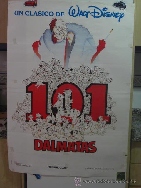 Cine: 101 DALMATAS . WALT DISNEY. DIBUJOS . - Foto 2 - 21833282