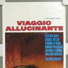 Cine: MY96 VIAJE ALUCINANTE RAQUEL WELCH POSTER ORIGINAL ITALIANO 33X70. Lote 21924861