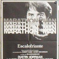 Cine: MZ34 MARATHON MAN DUSTIN HOFFMAN LAURENCE OLIVIER POSTER ORIGINAL 70X100 ESTRENO. Lote 21945807
