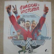 Cine: EVASION O VICTORIA, SYLVESTER STALLONE, MICHAEL CAINE, PELE - AÑO 1981. Lote 21953262
