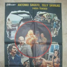 Cine: EL JEFE DE LA MAFIA, ANTONIO SABATO, TELLY SAVALAS - AÑO 1972. Lote 21961334
