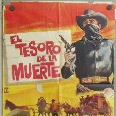 MZ88 EL TESORO DE LA MUERTE WESTERN MEJICANO FERNANDO CASANOVA POSTER ORIGINAL 70X100 ESTRENO