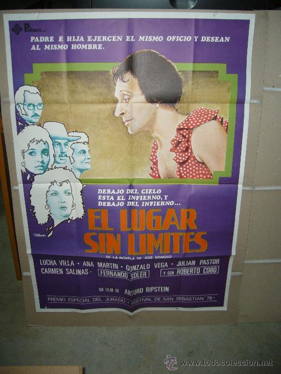 EL LUGAR SIN LIMITES CINE MEXICANO ARTURO RIPSTEIN POSTER ORIGINAL 70X100 (Cine - Posters y Carteles - Aventura)