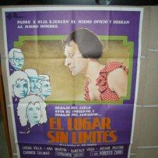 Cine: EL LUGAR SIN LIMITES CINE MEXICANO ARTURO RIPSTEIN POSTER ORIGINAL 70X100 . Lote 24488587