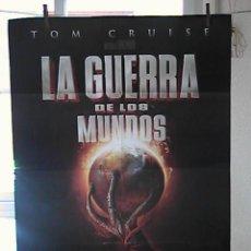 Cinema: LA GUERRA DE LOS MUNDOS, CARTEL DE CINE ORIGINAL 70X100 APROX (51). Lote 25827658