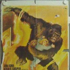 Cine: NA54 EL GRAN GORILA BEN JOHNSON KONG FILM JANO POSTER ORIGINAL 70X100 ESPAÑOL R-68 CDO. Lote 22103425