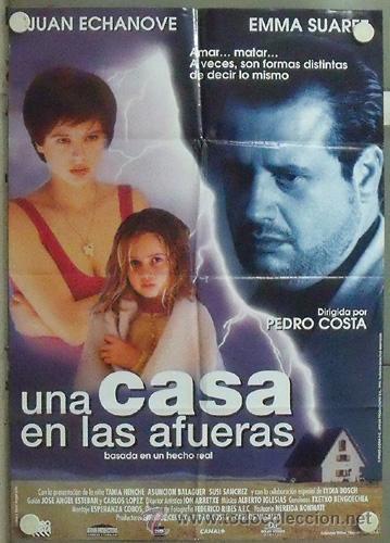 NB55 UNA CASA EN LAS AFUERAS JUAN ECHANOVE EMMA SUAREZ POSTER ORIGINAL 70X100 ESTRENO (Cine - Posters y Carteles - Clasico Español)