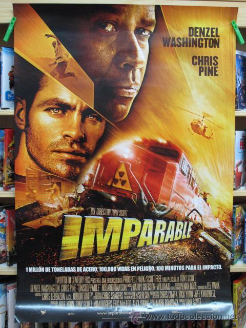 IMPARABLE (Cine - Posters y Carteles - Acción)